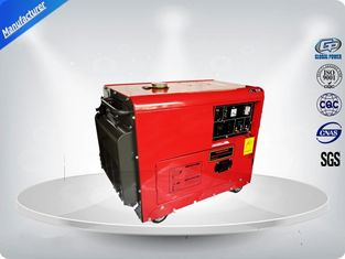 Cina Noise Proof Gasoline Generator Set 195 Kg 8.5-9.5 Kw / Kva For Commercial pemasok