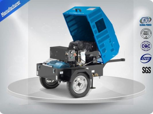 Cina 22Kw / 30Hp Portable Electric Air Compressor With Ac Output Power /  Direct Drive Screw Distributor