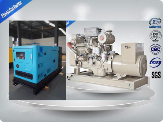 Cina Water Cooled Alternator Marine Generator Set Diesel Engine For Backup Power Distributor