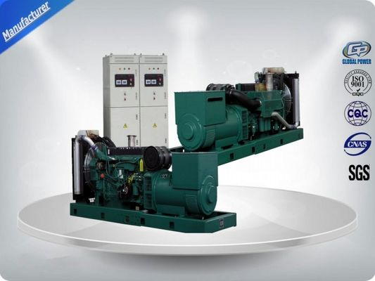 Cina VOLVO Water Cooling Cycle 4 Stroke Diesel Generator Set With Parallel  ATS pabrik