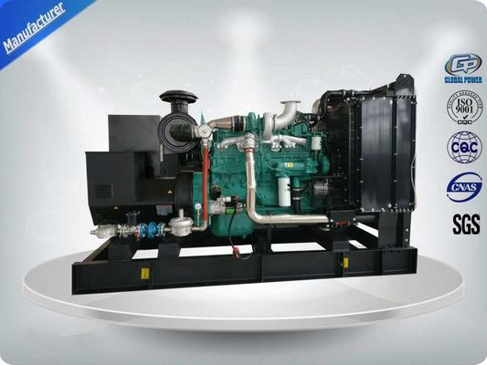200KW Open Type Generator Gas Alam Set Dengan Mesin Cummins Asli 6L14TWG1, Stamford Alternator UCDI274K